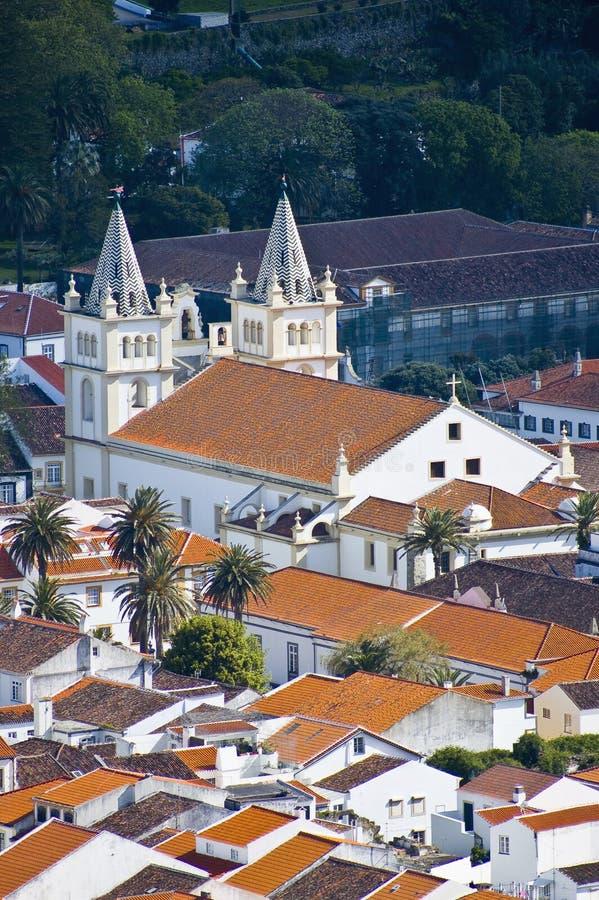 Isola di Terceira, Azzorre, Portogallo fotografia stock
