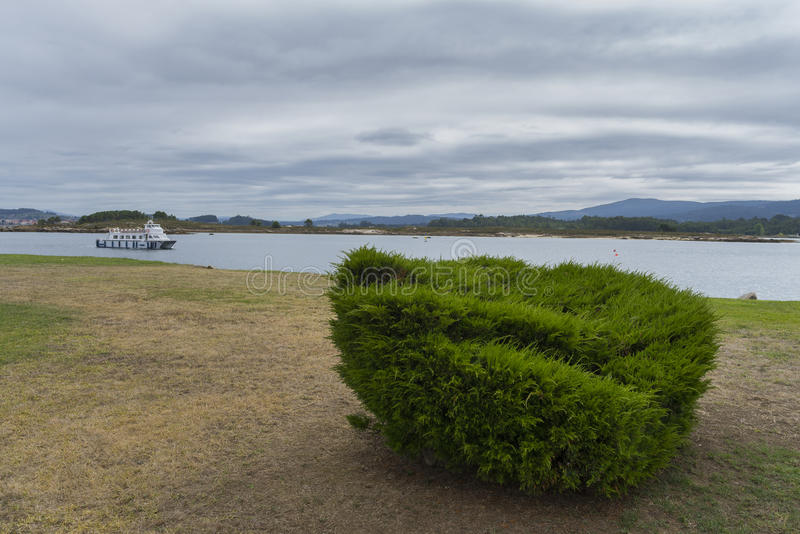 Isola di Toja della La fotografia stock libera da diritti
