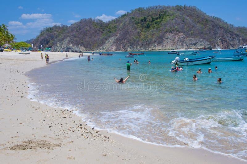 Isola di Tortuga, Costa Rica fotografie stock