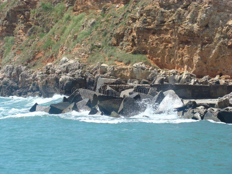 Download Isola di Tristan fotografia stock. Immagine di acqua - 55360224