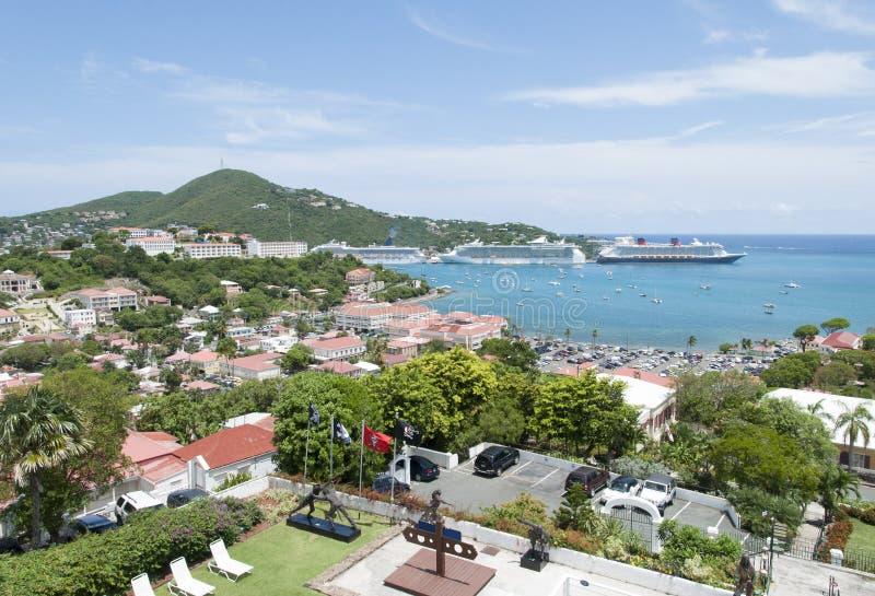Isola di visita di StThomas fotografia stock libera da diritti