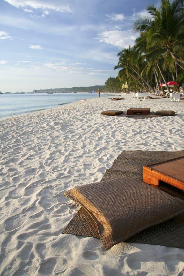 Isola Filippine di boracay della barra della spiaggia immagini stock libere da diritti