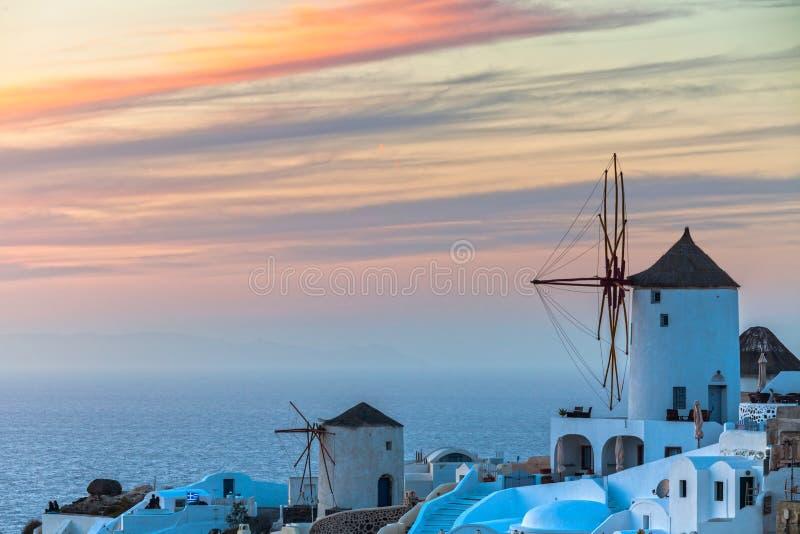 Isola greca di Santorini immagini stock