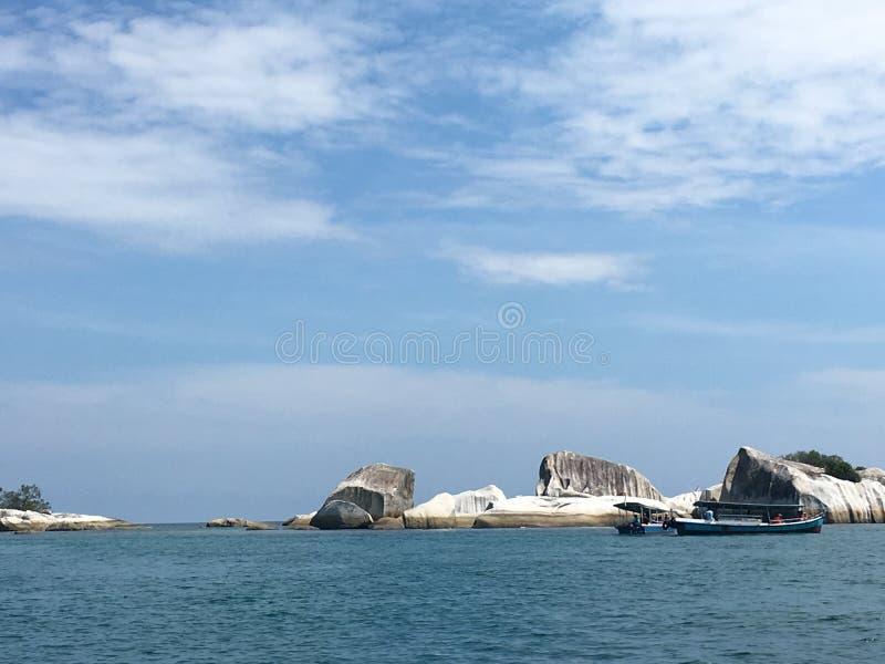 Isola Indonesia di Belitong immagini stock