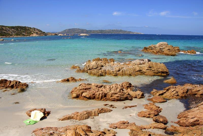 isola Italie Maddalena Sardaigne photo libre de droits