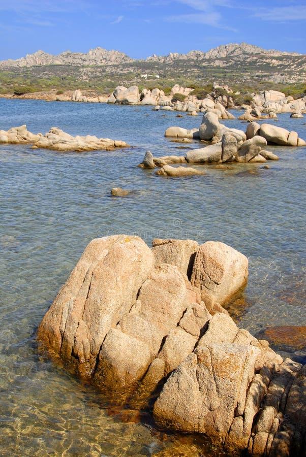 isola Italie Sardaigne de caprera images libres de droits