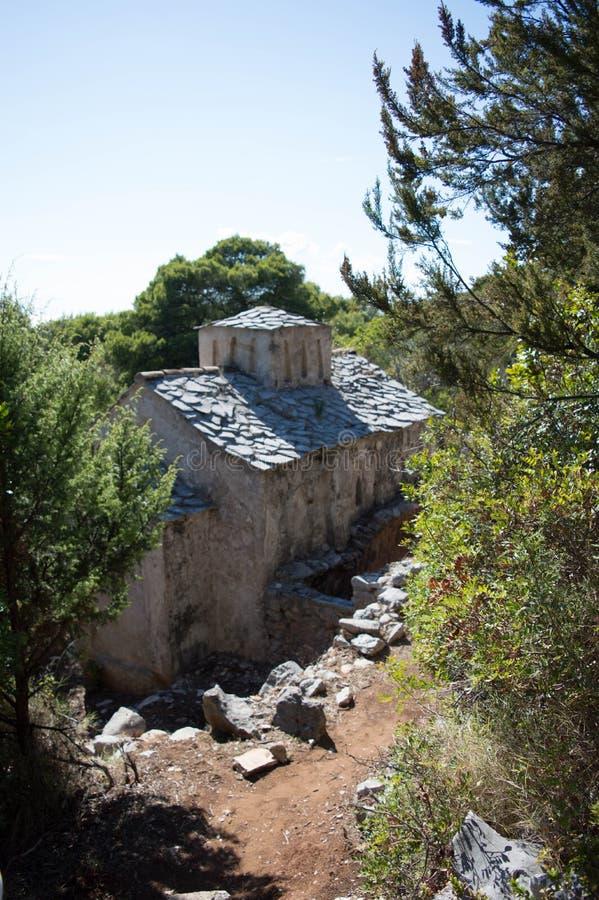 Isola Lopud fotografie stock libere da diritti