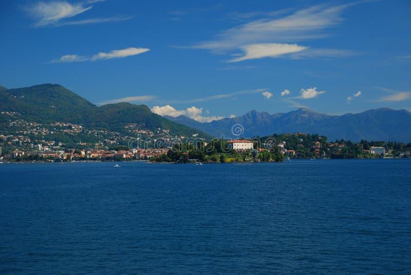 Isola Madre, λίμνη Maggiore, Ιταλία στοκ εικόνες