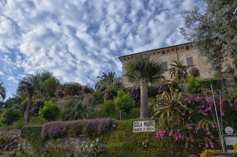 Isola Madre - l'Italie 2 image libre de droits