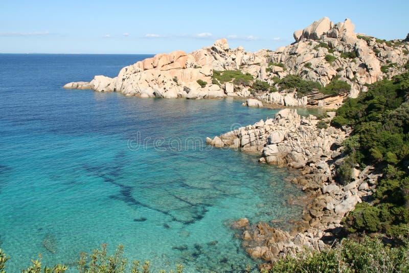 Isola Spargi - Maddalena Archipelago stock foto's