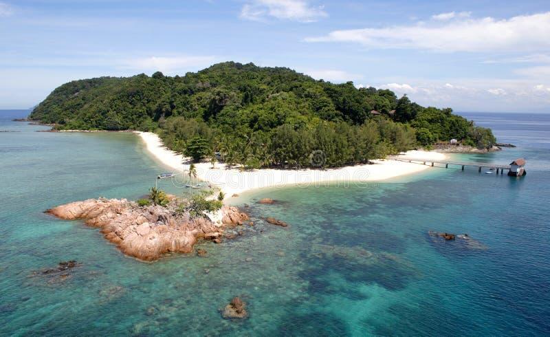 Isola tropicale immagine stock libera da diritti