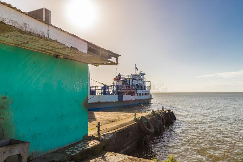 Isola vulcanica di Ometepe immagini stock libere da diritti