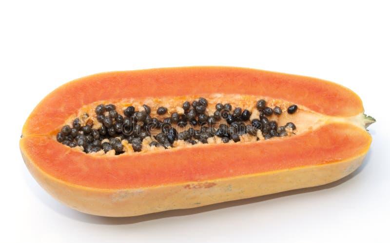 Download Isolado do fruto da papaia foto de stock. Imagem de gosto - 29849020