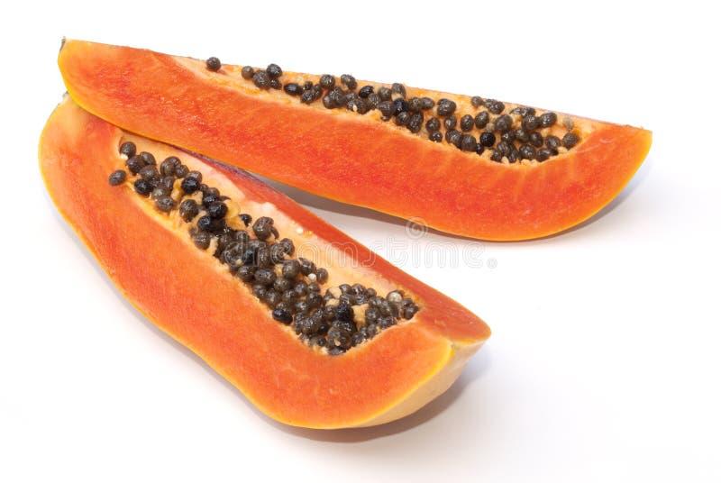 Download Isolado do fruto da papaia imagem de stock. Imagem de alimento - 29849119
