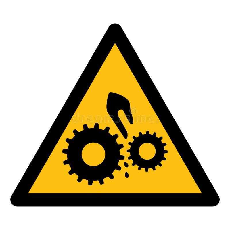 Isolado do símbolo da maquinaria móvel no fundo branco, ilustração EPS do vetor 10 ilustração royalty free