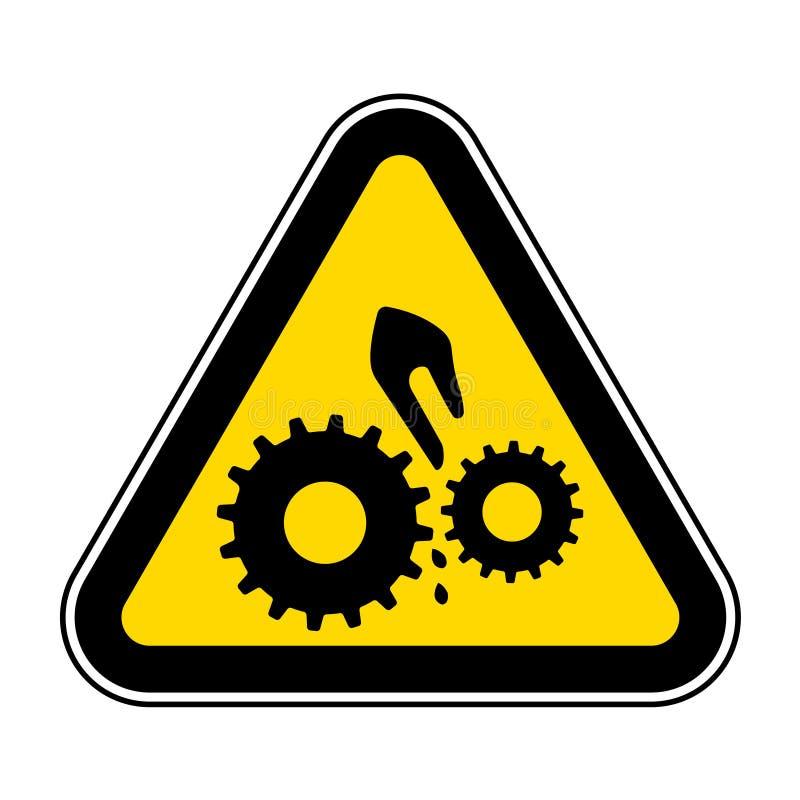 Isolado do símbolo da maquinaria móvel no fundo branco, ilustração EPS do vetor 10 ilustração stock