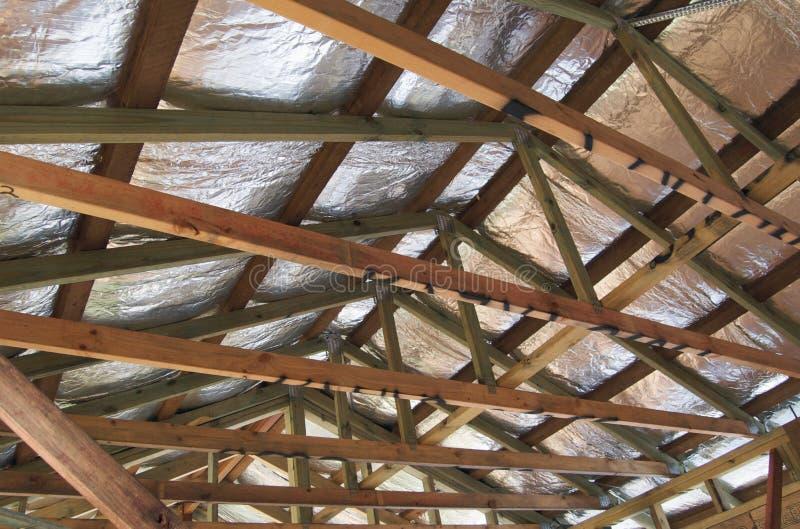 Isolamento del tetto fotografia stock
