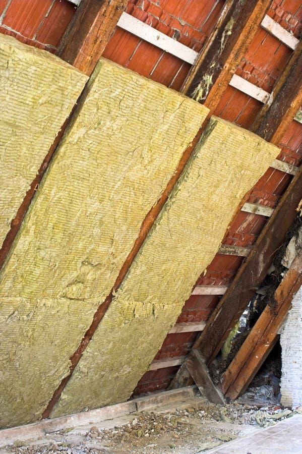 Isolamento termico fotografie stock libere da diritti