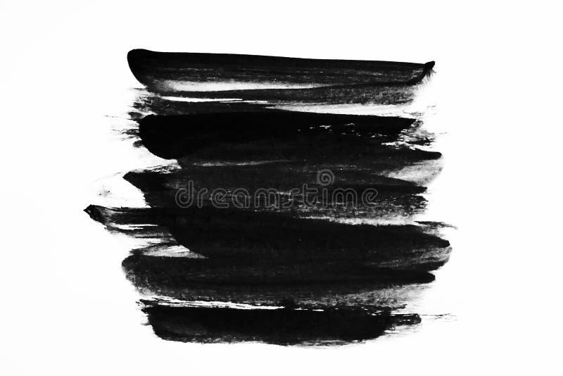 isolat abstrait de peinture à encre sur fond photos libres de droits