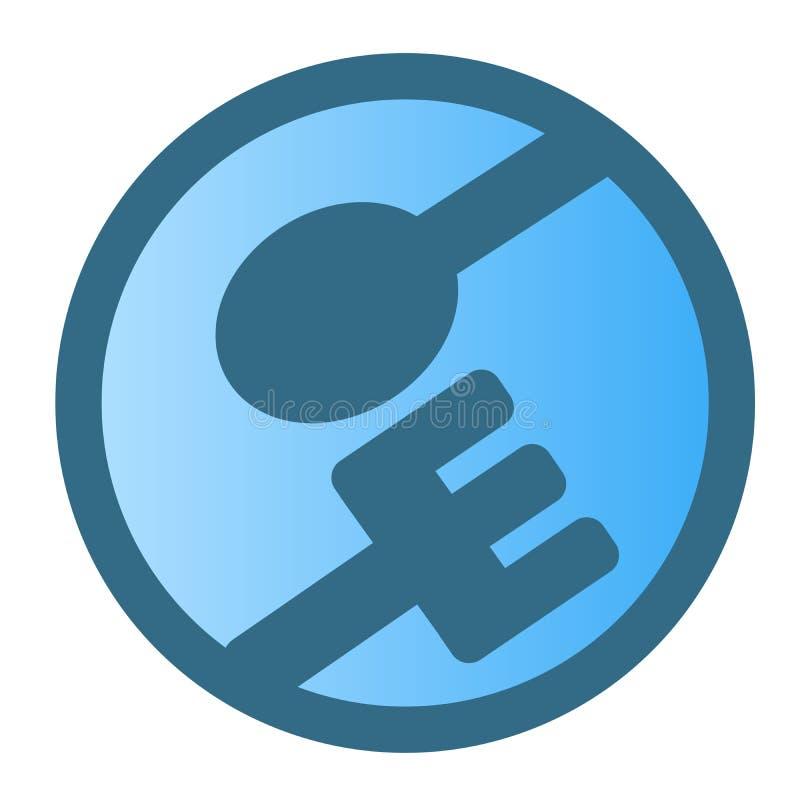Isolat de conception de vecteur de logo de cuillère et de gens sur le fond blanc illustration de vecteur