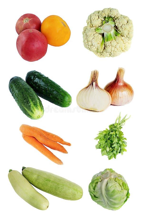 Isolat de légumes frais photo libre de droits