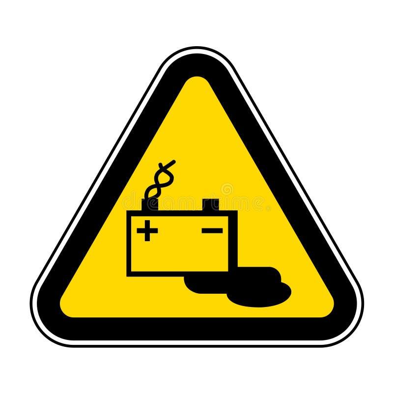 Isolat de signe de symbole de chargement de batterie sur le fond blanc, illustration ENV de vecteur 10 illustration de vecteur