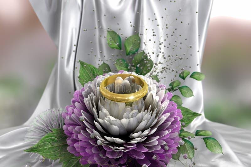Isolate on white holiday and wedding background