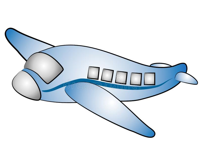 Isolated Airplane Jet Clip Art Stock Images