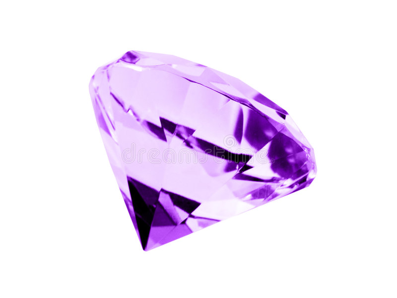 Download Isolated Amethyst Jewel Stock Photos - Image: 5005843