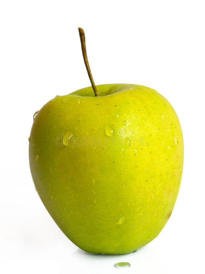 Free Isolated Apple With Drops Stock Images - 1965194
