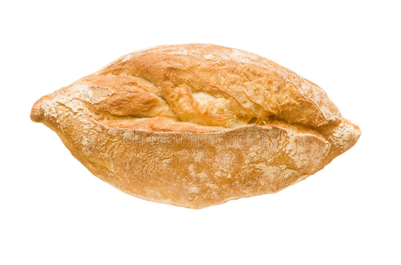 Isolated baguette stock image