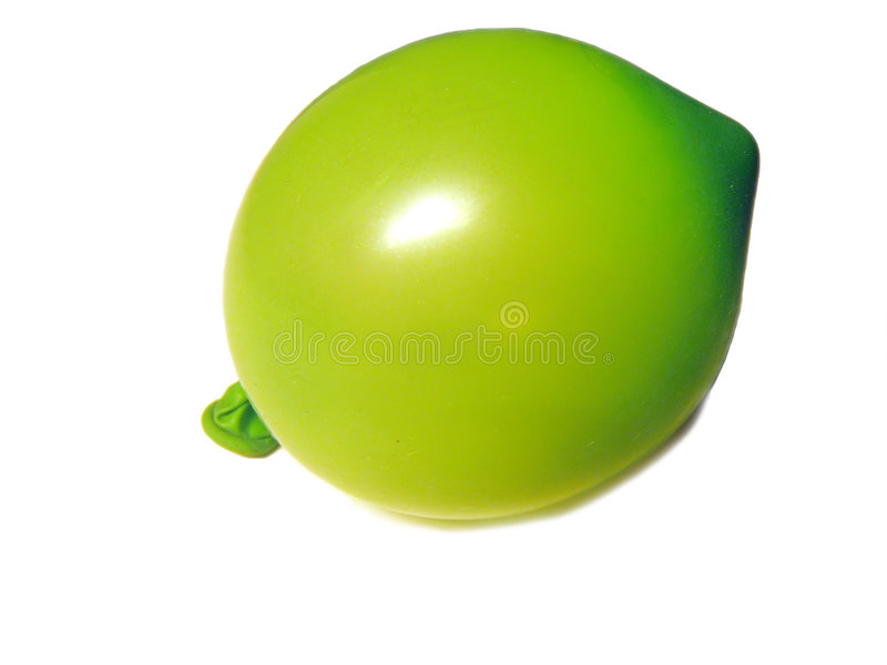 Isolated balloon royalty free stock image