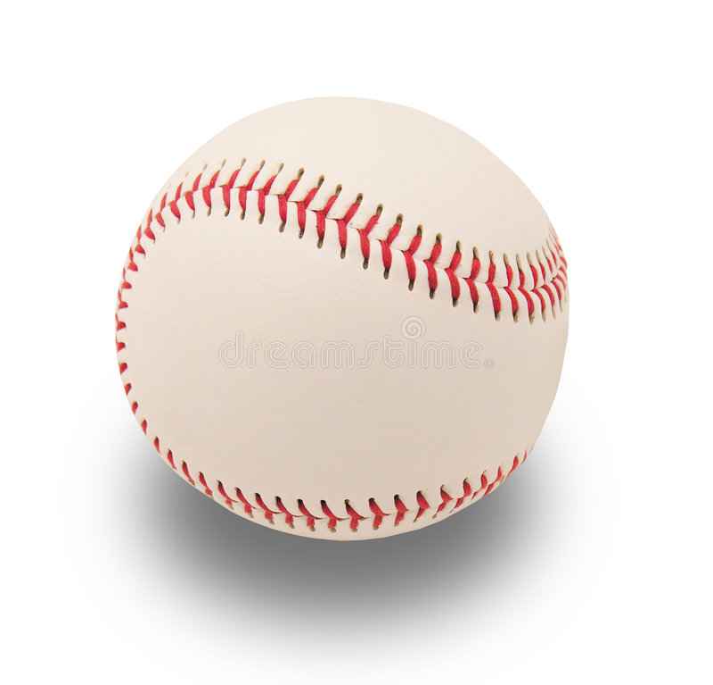 Isolated Baseball stock images