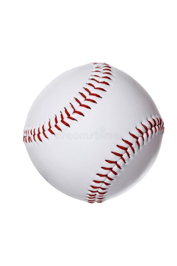 Isolated baseball royalty free stock photography