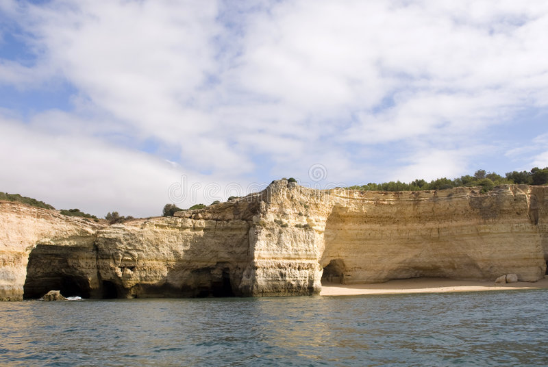 Download Isolated Beach in Algarve stock image. Image of ocean - 6119489