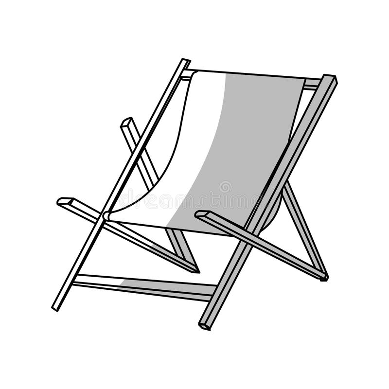Download Isolated Beach Chair Design Stock Vector   Illustration Of Relax,  Relaxing: 81732401