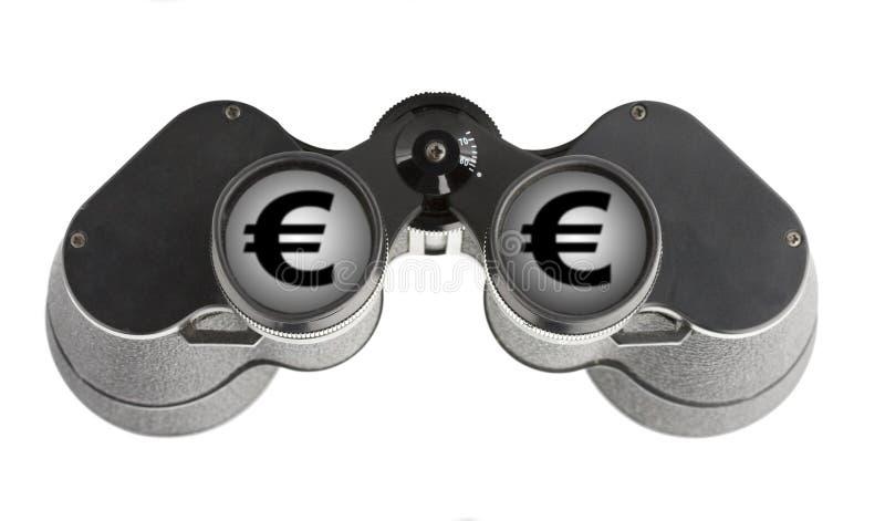 Download Isolated Binoculars With Money Stock Photo - Image: 7454040