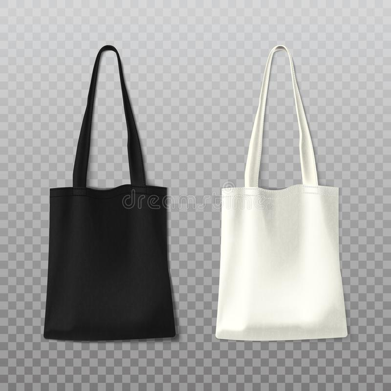 Isolated black and white woman bag, female handbag vector illustration