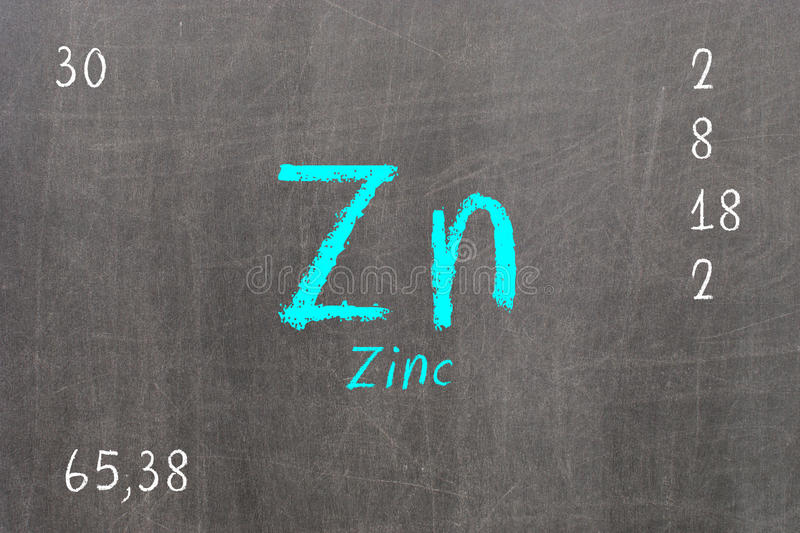 Isolated blackboard with periodic table zinc stock illustration download isolated blackboard with periodic table zinc stock illustration illustration of atomic neutrons urtaz Gallery