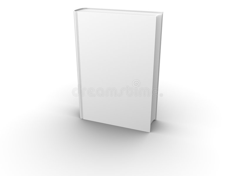 Isolated blank book front vector illustration