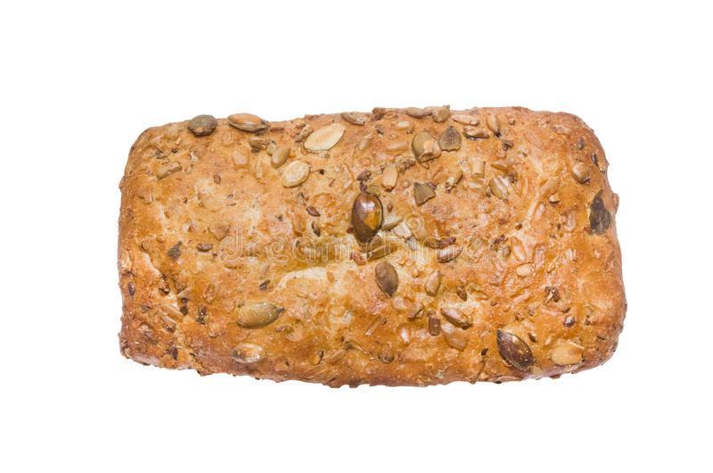Isolated bread royalty free stock images