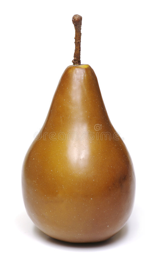 Free Isolated Brown Pear Royalty Free Stock Photography - 722307