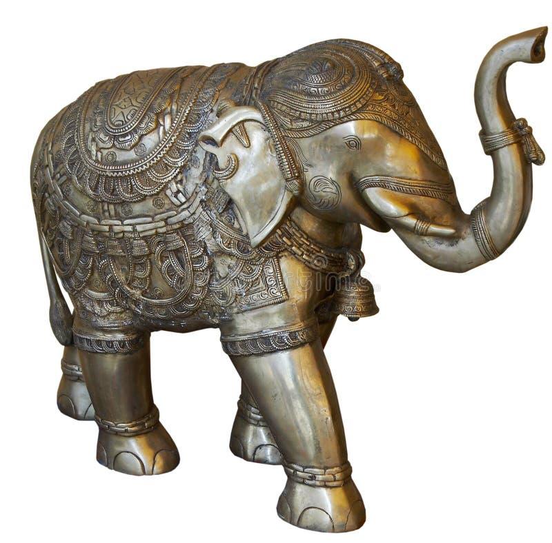 Isolated Buddhist elephant royalty free stock image