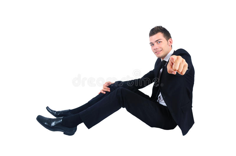Download Isolated business man stock photo. Image of look, cut - 26669534