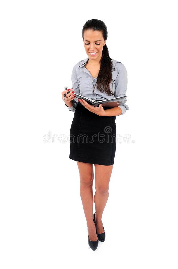 Download Isolated business woman stock photo. Image of cutout - 42531428