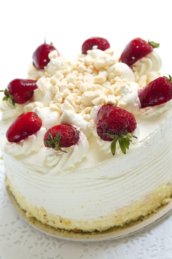Isolated cake royalty free stock photos