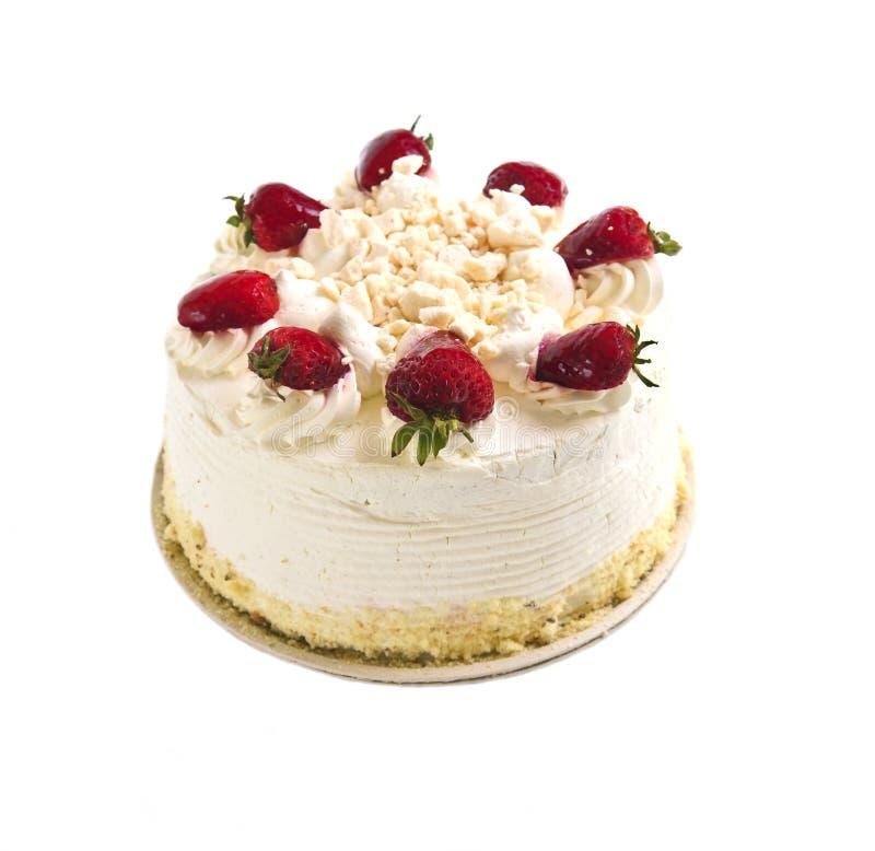 Isolated cake royalty free stock image
