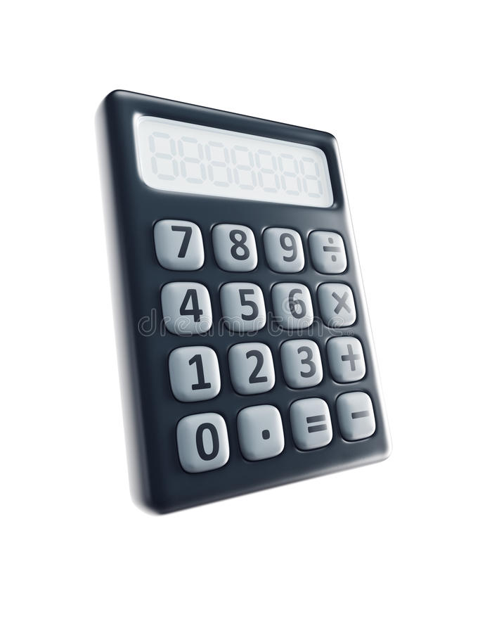 Download Isolated calculator stock illustration. Image of count - 19977787