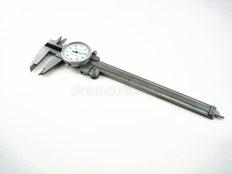 Download Isolated caliper stock photo. Image of machine, home, length - 509844
