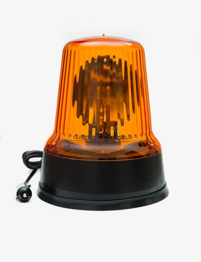 Isolated car beacon. Nice isolated car beacon for special transport stock image